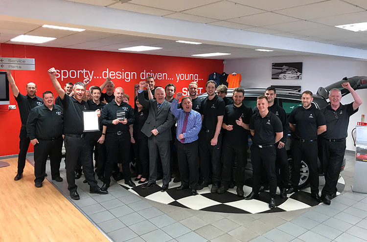 Pulman SEAT top SEAT UK network once again