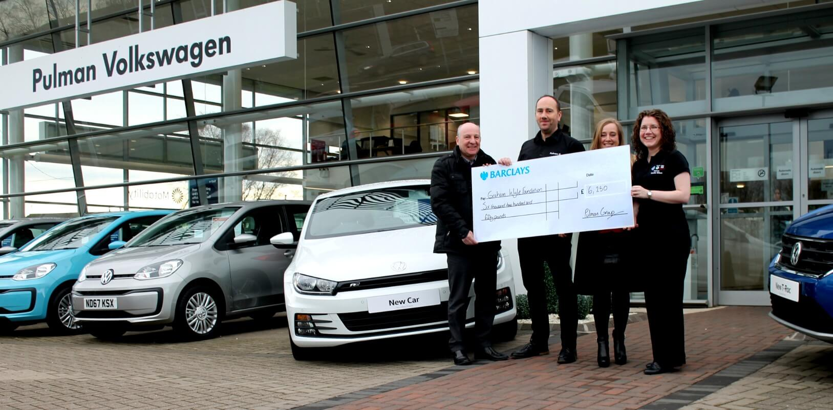 Local children charity receives £6,250 to start 2018