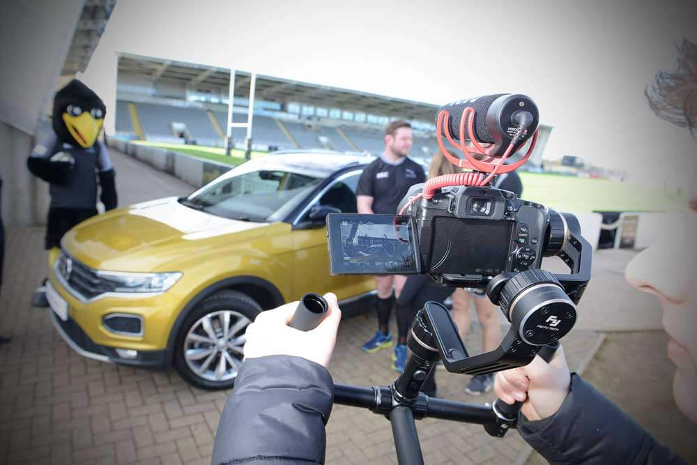 Newcastle Falcons Video Shoot