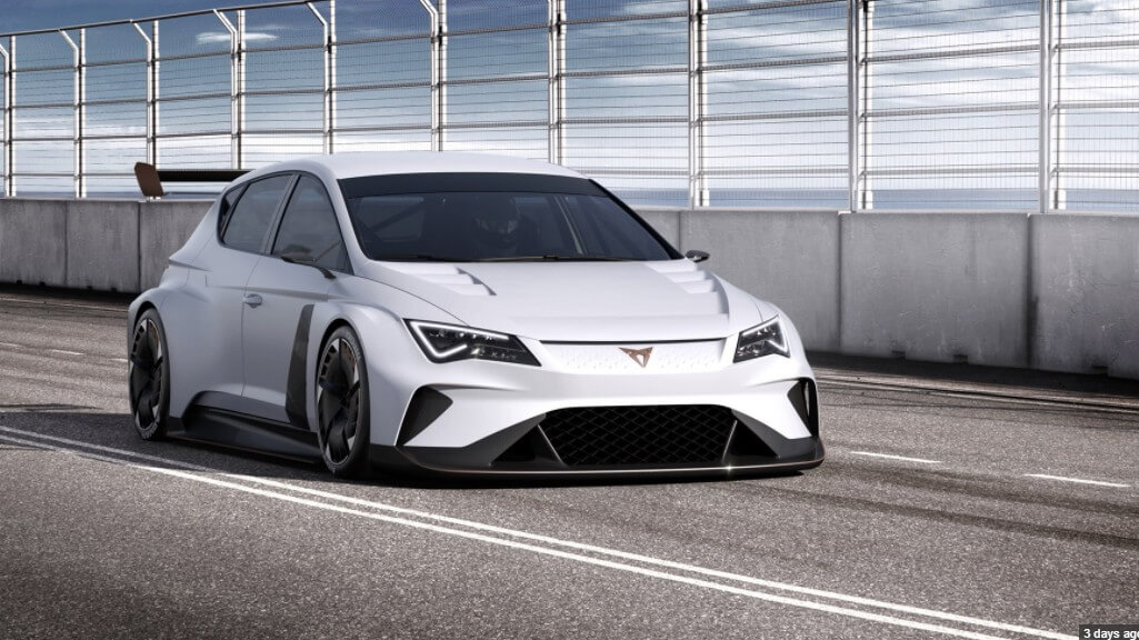 New Cupra eRacer