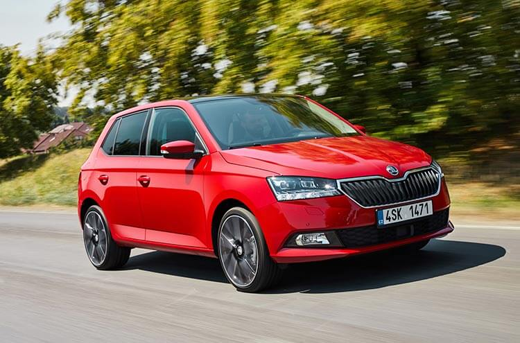 Fabia 2018 front