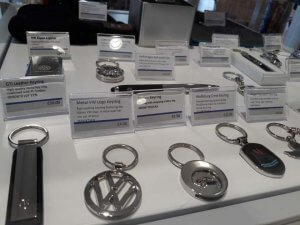 VW Keyrings