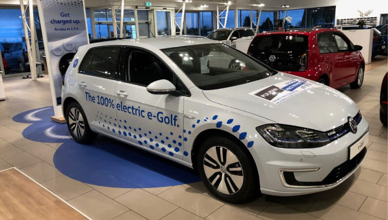 e-Golf in Sunderland