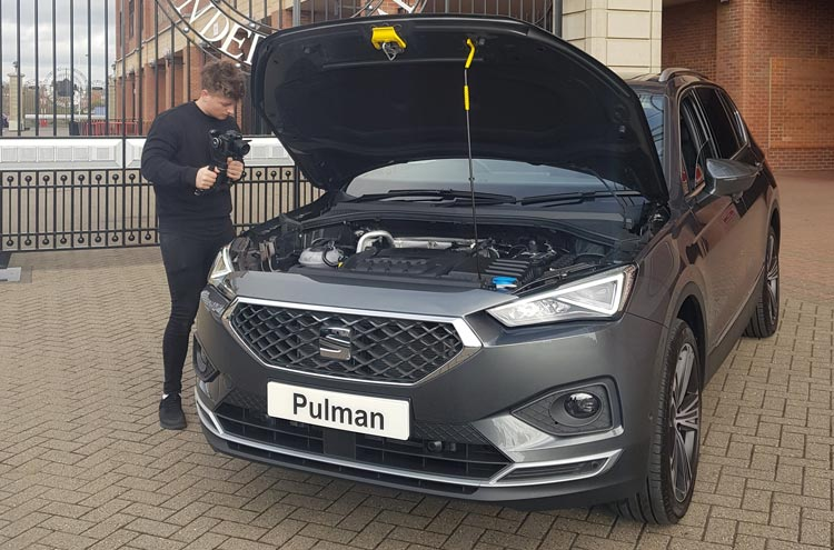 SEAT Tarraco with Pulman Group