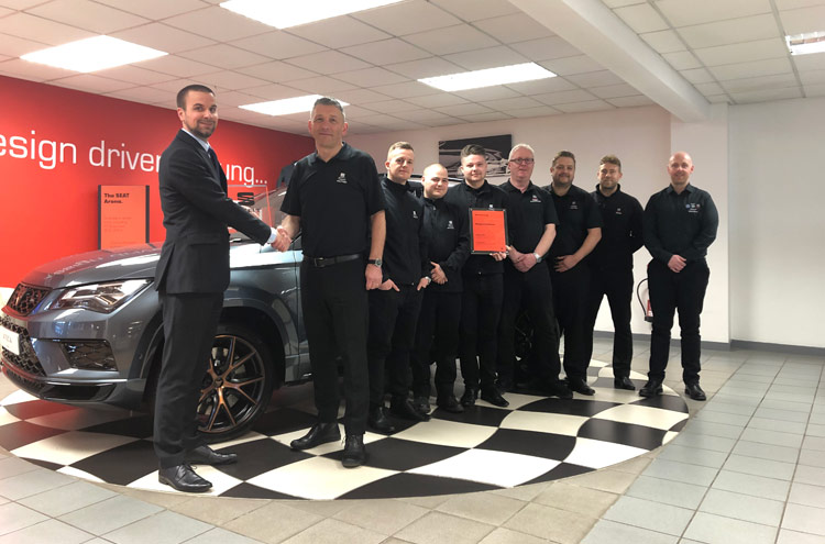Pulman SEAT Team win yet another award