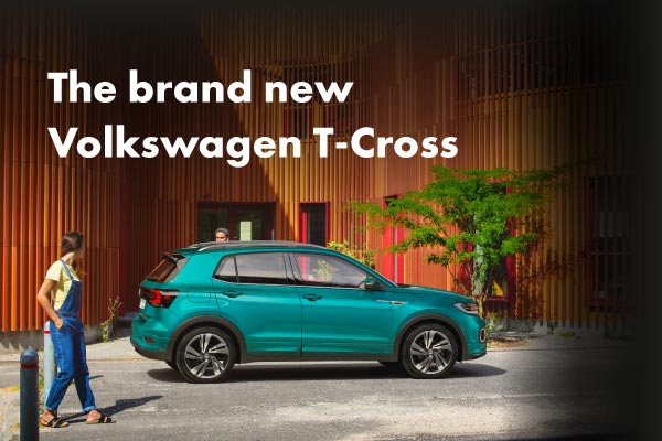 The new Volkswagen T-Cross at Pulman
