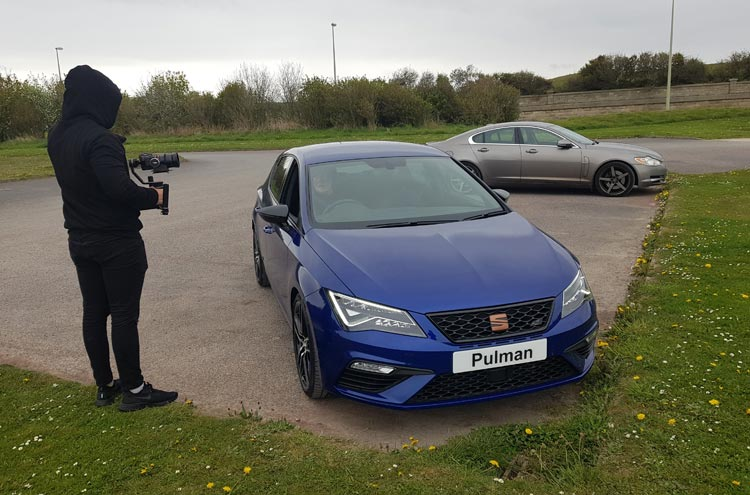 SEAT Leon CUPRA from Pulman SEAT in Sunderland at Souter Lighthouse