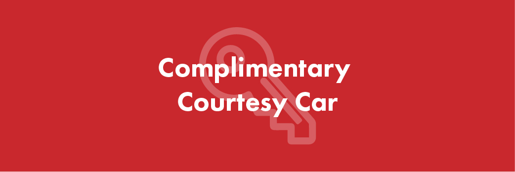 Reason 5 to service your car at Pulman: Complimentary Courtesy Car