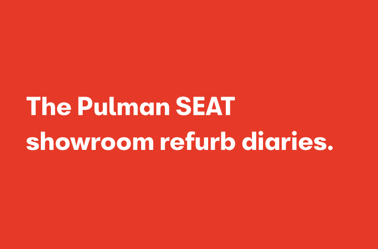 Pulman SEAT refurbishment Diaries Blog