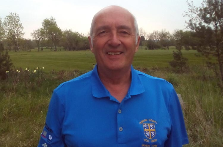 David Moralee new recruit for Durham County Golf Union Seniors team