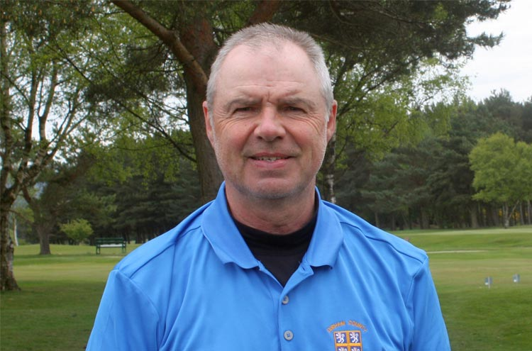 Ian Hendry, new recruit for Durham County Golf Union Seniors team