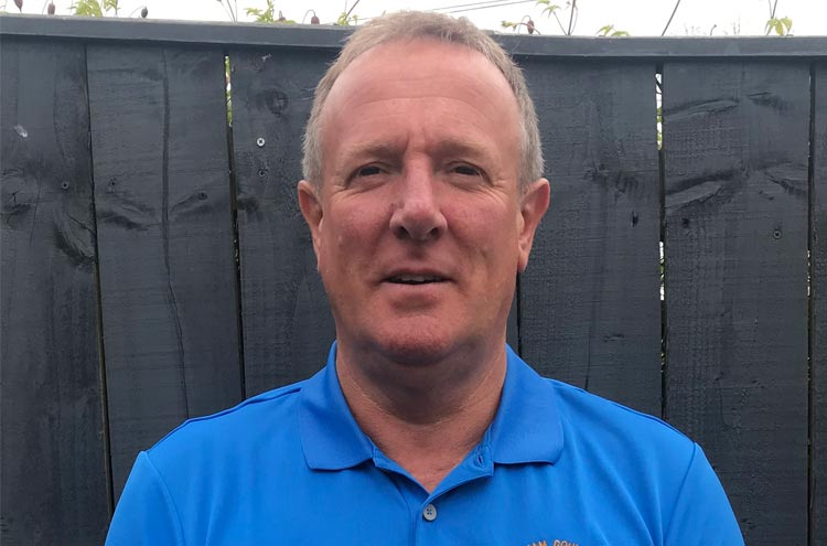 Mark Wardle new recruit for Durham County Golf Union Seniors team