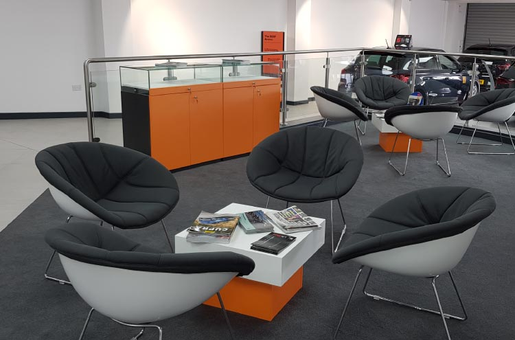 New Pulman SEAT and CUPRA furniture