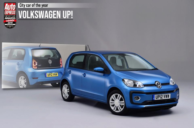 new Volkswagen Up! wins Auto Express Award 2019