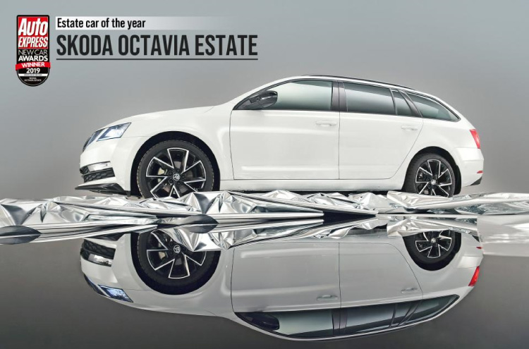 new SKODA Octavia Estate wins Auto Express Award 2019