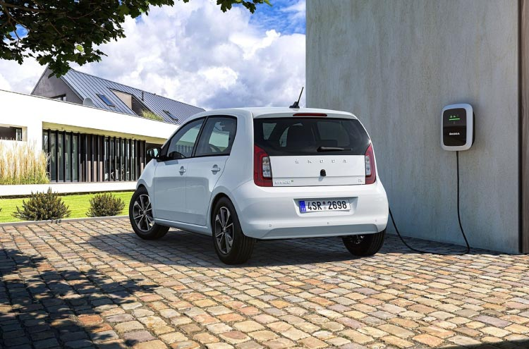 The new electric SKODA CITIGOe iV