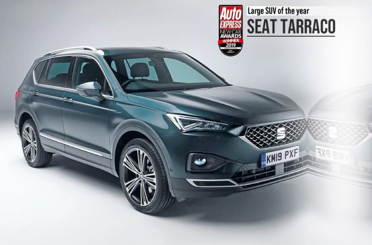 new SEAT Tarraco wins Auto Express Award 2019