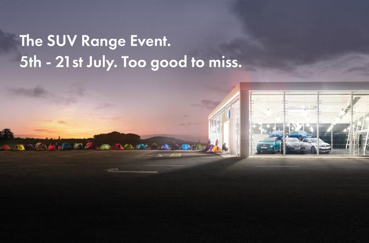 Volkswagen SUV Event at Pulman