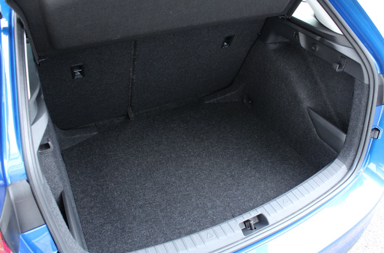 Boot space in the new SKODA Scala at Pulman