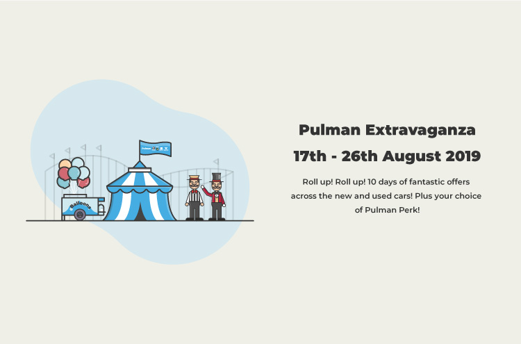During the Pulman Extravaganza Event receive 10 days of fantastic offers across the new and used car range!