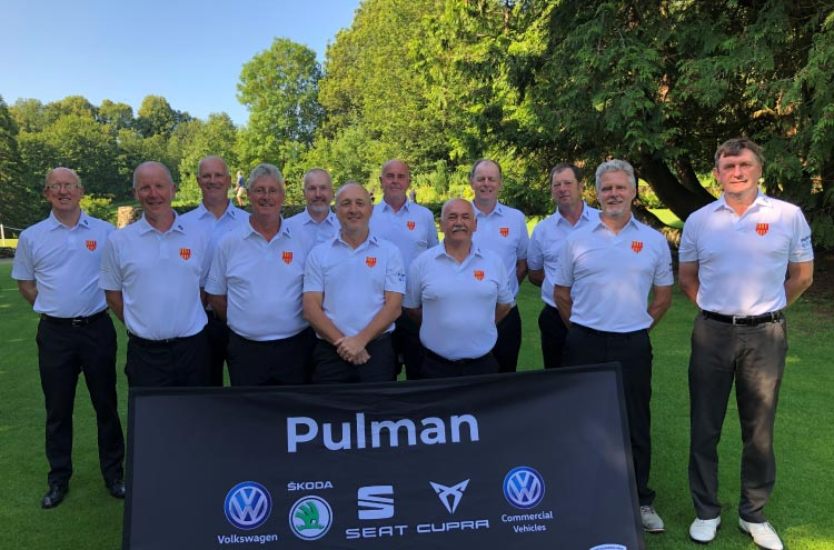 Pulman are proud sponsors of local Northumberland Golf Seniors team