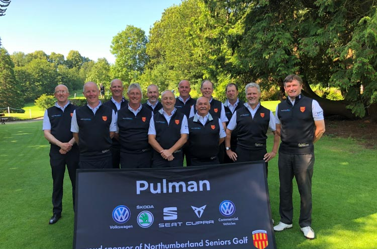 Pulman are proud sponsors of local Northumberland Golf Seniors