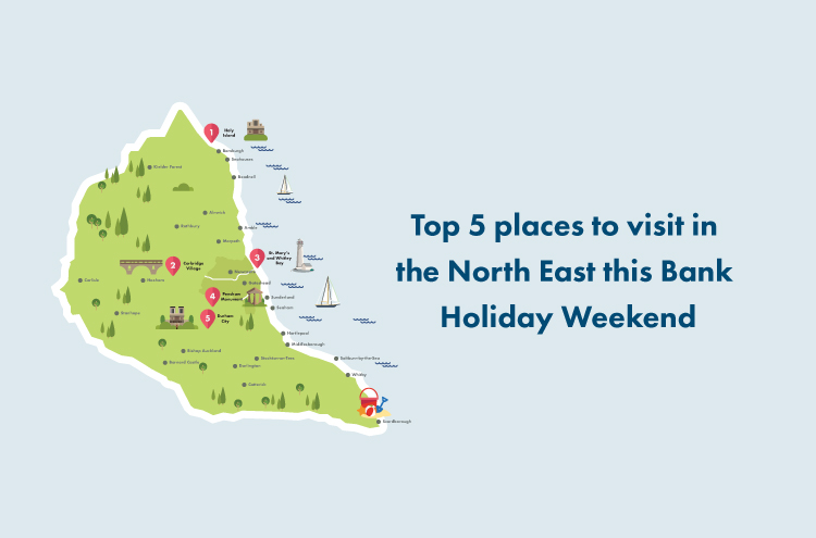 Top 5 places to visit in the North East by Pulman