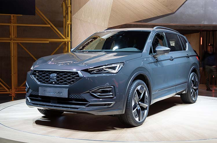 new SEAT Tarraco FR PHEV at the Frankfurt Motor Show