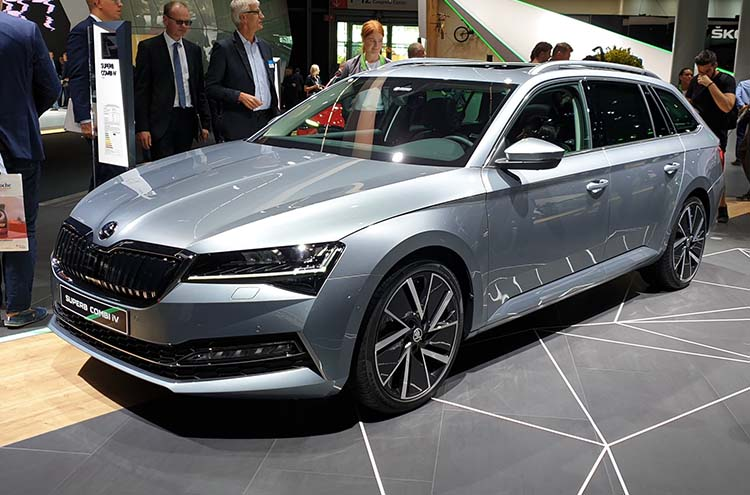New SKODA SUPERB Combi iV at Frankfurt Motor Show