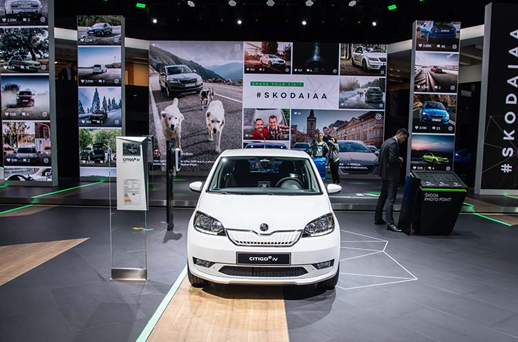 new citigoe Iv at the Frankfurt Motor Show