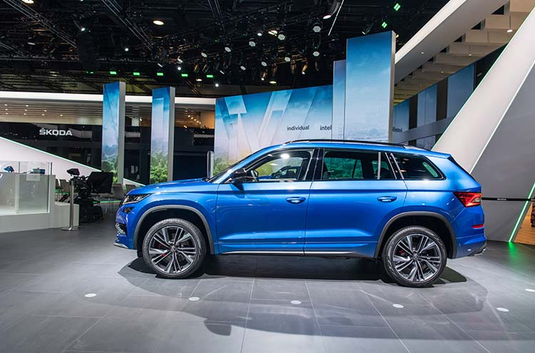 new SKODA Kodiaq vRS at the Frankfurt Motor Show