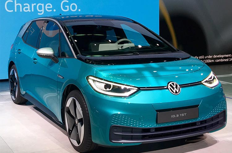 New Volkswagen ID.3 1st edition at the Frankfurt Motor Show 2019