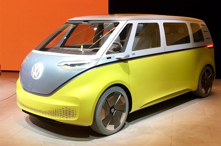 New Volkswagen ID Buzz at the Frankfurt Motor Show 2019