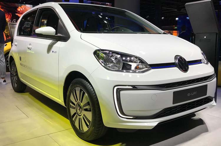 New Volkswagen e-up at Frankfurt Motor Show 2019