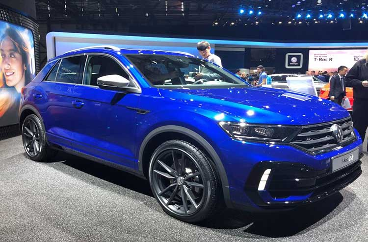 New Volkswagen T-Roc R at Frankfurt Motor Show 2019
