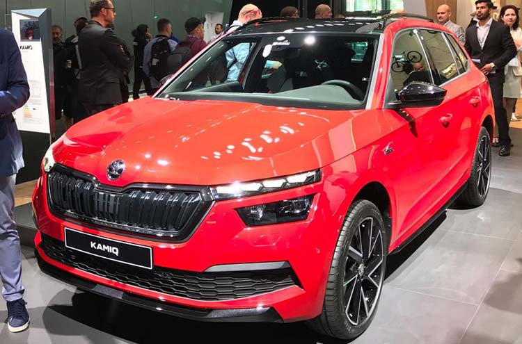 New SKODA Kamiq at Frankfurt Motor Show 2019