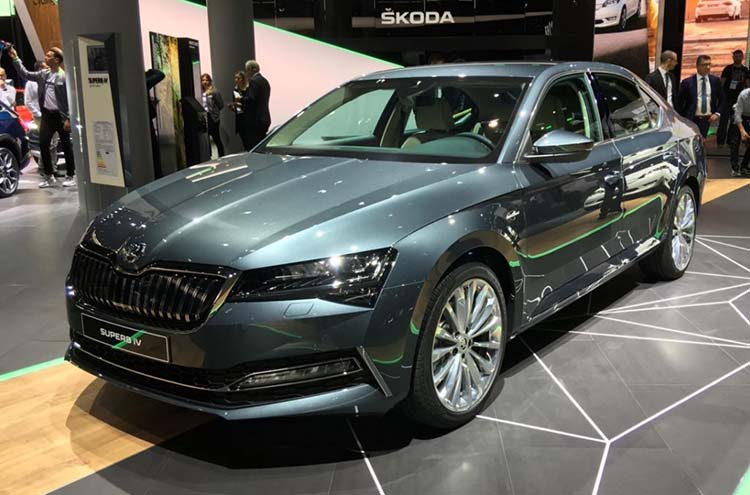 SKODA Superb iV at Frankfurt Motor Show 2019