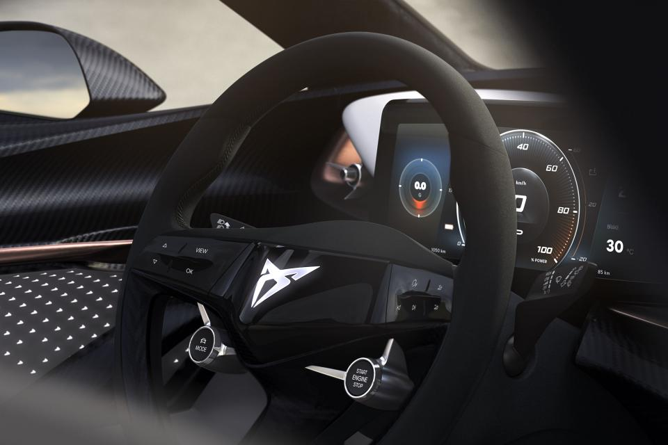 New CUPRA electric interior