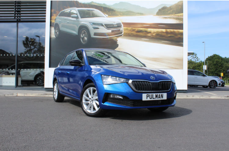 New SKODA Scala at Pulman in Durham