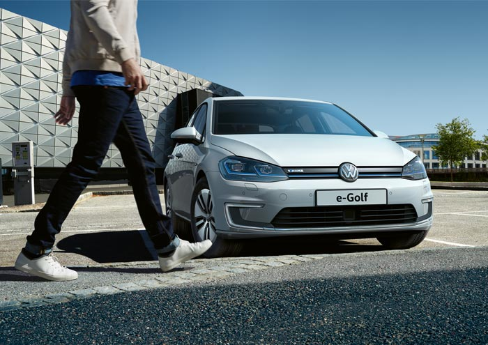 new Volkswagen e-Golf now at Pulman across Sunderland and Durham