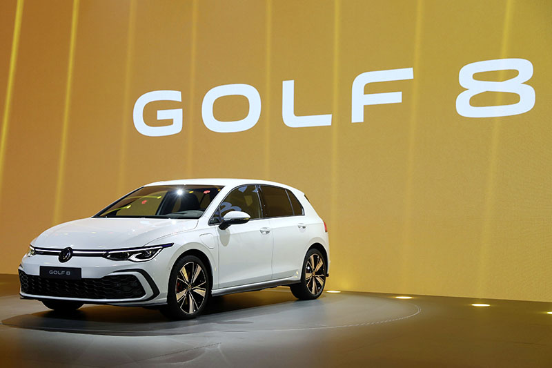 New Volkswagen Golf Mk8 unveil