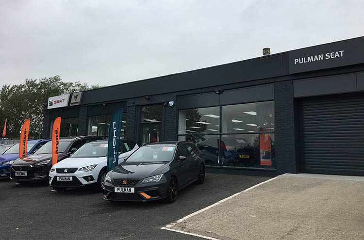New exterior at Pulman SEAT and CUPRA