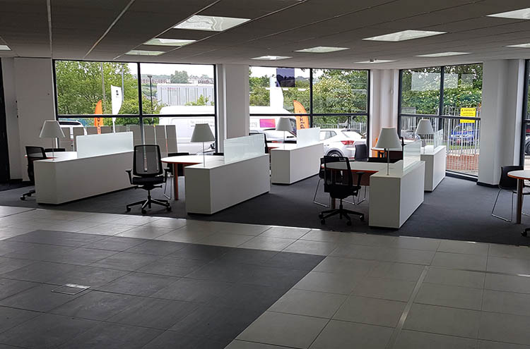 New sales area at Pulman SEAT and CUPRA