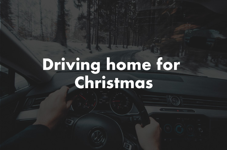Driving home for Christmas driving tips