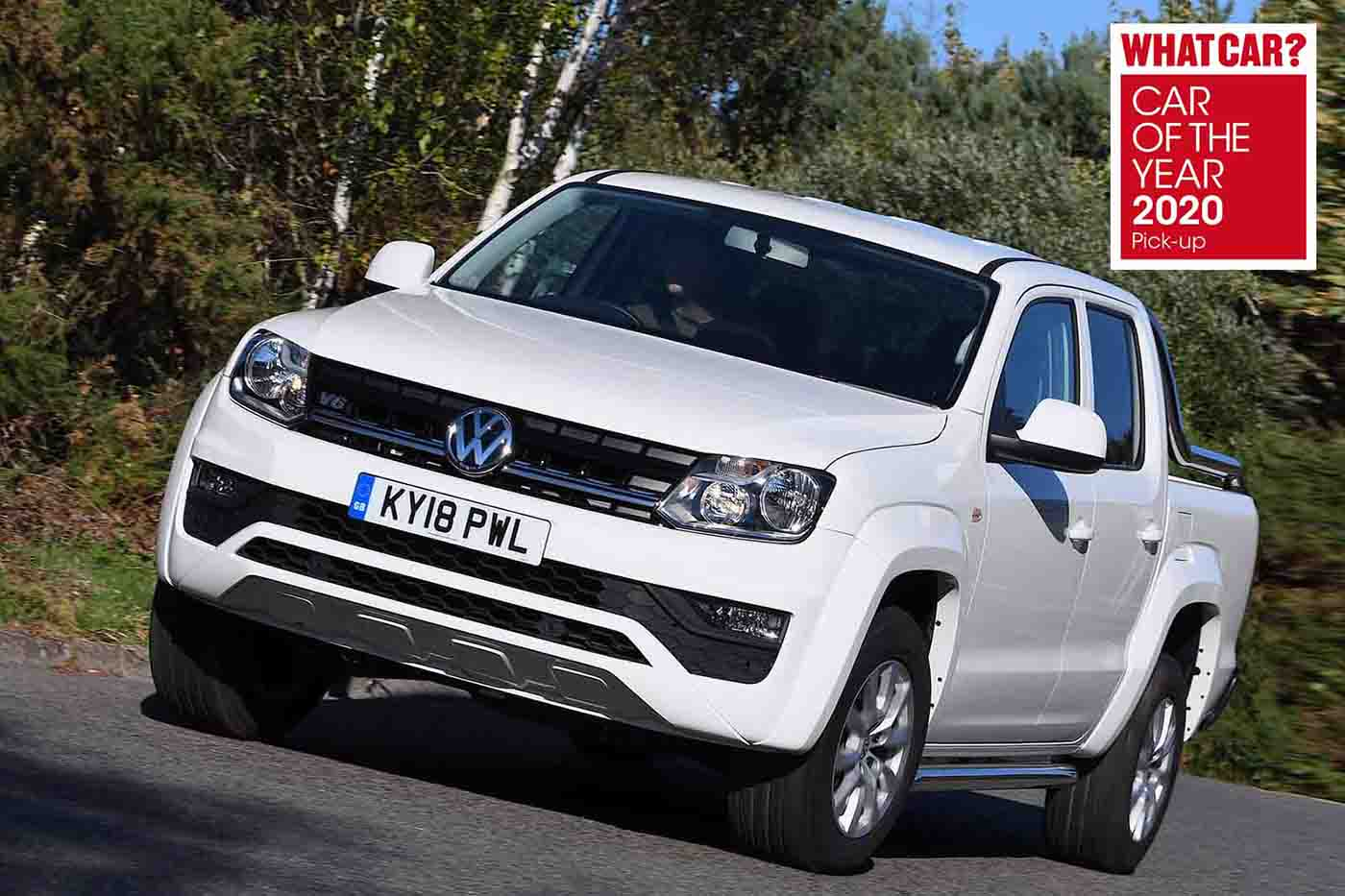 Whatcar? car of the year award Volkswagen Amarok