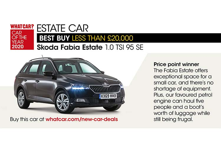 Whatcar? Car Of The Year Awards 2020 Fabia Estate
