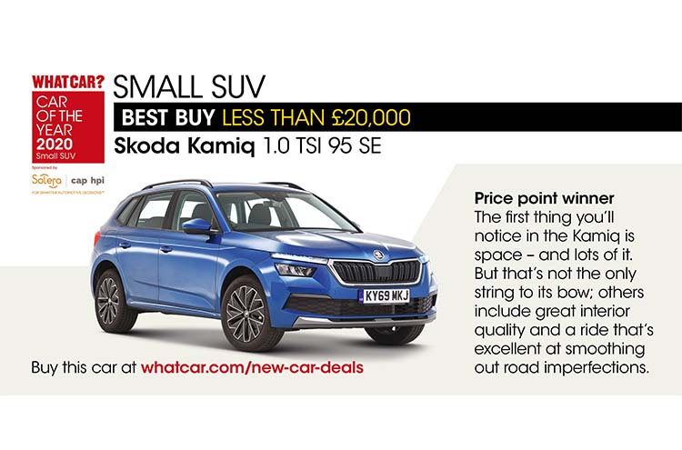 Whatcar? Car Of The Year Awards 2020 Kamiq