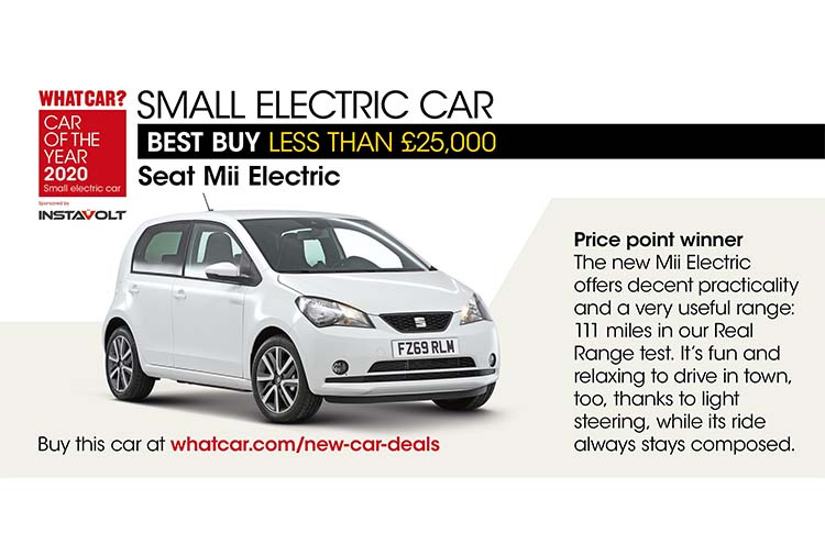Whatcar? Car Of The Year Awards 2020 Mii Electric