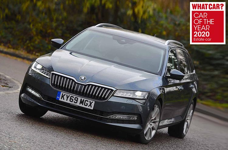 Whatcar? Car Of The Year Awards 2020 Superb Estate