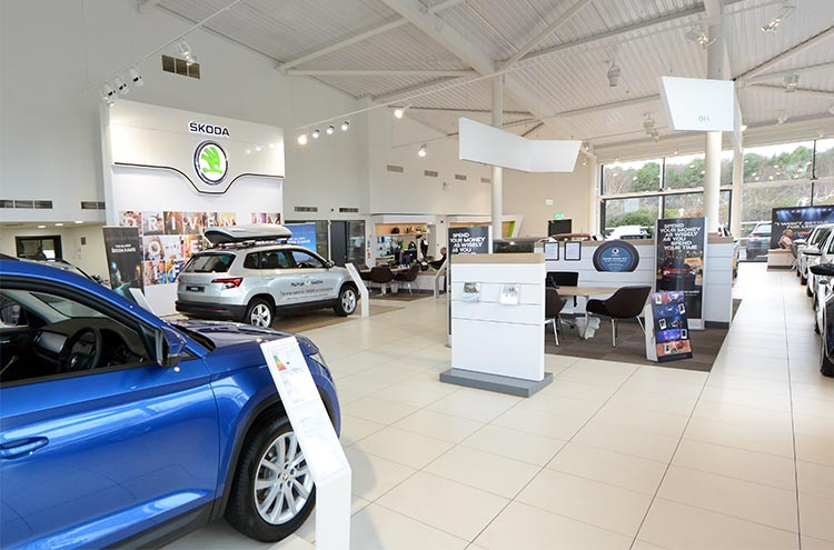 Interior Pulman SKODA Cramlington formerly Silbury SKODA